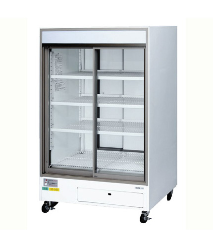 冷蔵スライドショーケース